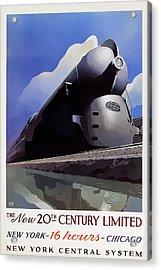 20th Century Limited Acrylic Print