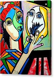 Artist Picasso Acrylic Print