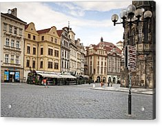 Prague Acrylic Print by Andre Goncalves