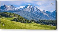#215 - Spanish Peaks, Southwest Montana Acrylic Print
