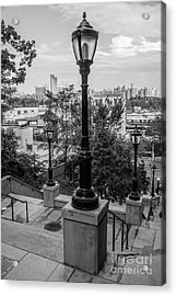 215th Street Stairs  Acrylic Print