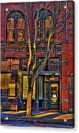 219 Washington Street Acrylic Print by David Patterson
