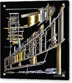 21st Century Erector Set ? Acrylic Print by Walt Foegelle