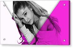 Ariana Grande Collection Acrylic Print