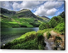 Buttermere Acrylic Print by Nichola Denny