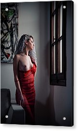 Acrylic Print featuring the photograph Tu M'as Promis by Traven Milovich