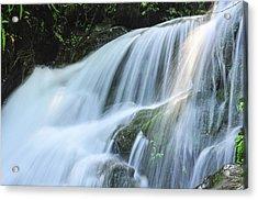 Waterfall Scenery Acrylic Print