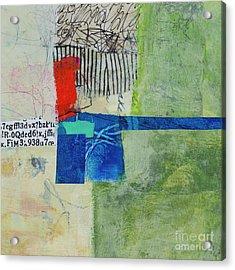 Acrylic Print featuring the mixed media 23 by Elena Nosyreva