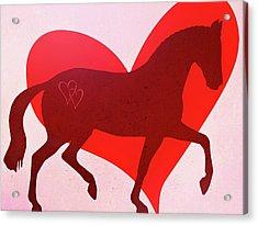 Valentine Passage  Acrylic Print by JAMART Photography