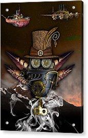 Steampunk Art Acrylic Print