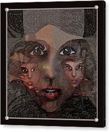2327- Portrait Fractal 2017 Acrylic Print