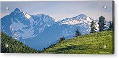 #238 - Spanish Peaks, Southwest Montana Acrylic Print