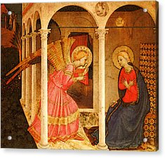 Fra Angelico  Acrylic Print by Fra Angelico