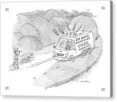 24 Hour Roadside Tuba Service Acrylic Print