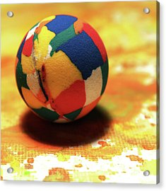 25 Cent Ball Acrylic Print