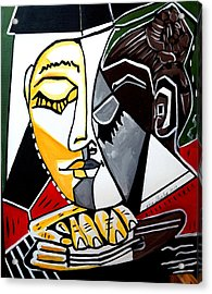 Picasso By Nora Fingers Acrylic Print