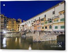 Ponte Vecchio Acrylic Print by Andre Goncalves