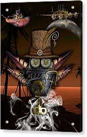 Steampunk Art Acrylic Print by Marvin Blaine