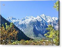 The Plateau Scenery Acrylic Print
