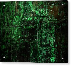 2525 Ad Copper Wall 02 Acrylic Print by Nilla Haluska