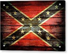 Confederate Flag 2 Acrylic Print