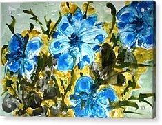 Divine Blooms Acrylic Print