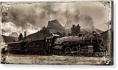 2816 Empress At Three Sisters - Canmore Acrylic Print