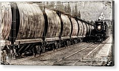 2816 Empress Passing Grain Acrylic Print