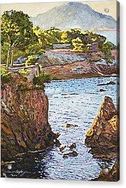 Riviera Sea Cove Acrylic Print