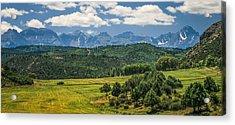 #2918 - Sneffles Range, Colorado Acrylic Print