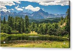 #2933 - Sneffles Range, Colorado Acrylic Print