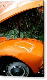 2cv Plant Pot Acrylic Print by Jez C Self
