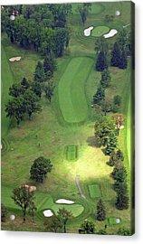 2nd Hole Sunnybrook Golf Club 398 Stenton Avenue Plymouth Meeting Pa 19462 1243 Acrylic Print by Duncan Pearson