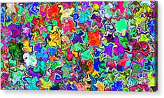 2x1 Abstract 310 Acrylic Print by Rolf Bertram