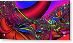 2x1 Abstract 360 Acrylic Print by Rolf Bertram