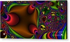 2x1 Abstract 363 Acrylic Print by Rolf Bertram
