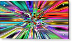 2x1 Abstract 403 Acrylic Print by Rolf Bertram