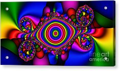 2x1 Abstract 424 Acrylic Print by Rolf Bertram