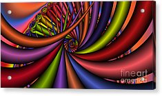 2x1 Abstract 430 Acrylic Print by Rolf Bertram