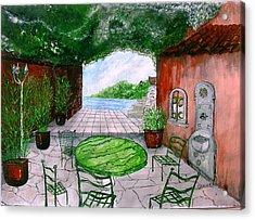 a la Provence Acrylic Print by KlausJuergen Rach