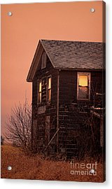 Acrylic Print featuring the photograph Abandoned House by Jill Battaglia