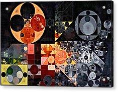Abstract Painting - Calico Acrylic Print by Vitaliy Gladkiy