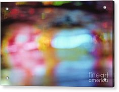 Abstract Acrylic Print by Tony Cordoza