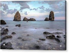 Aci Trezza - Sicily Acrylic Print by Joana Kruse