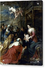Adoration Of The Magi Acrylic Print by Granger