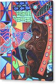 Aesthetic Ascension Acrylic Print by Malik Seneferu