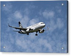 Air New Zealand Airbus A320 Acrylic Print