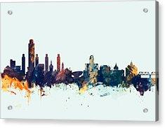Albany New York Skyline Acrylic Print
