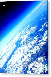 Alpine From Sky Acrylic Print