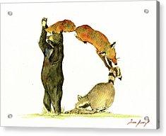 Animal Letter Acrylic Print